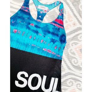 Soul Cycle Tie Dye Tank